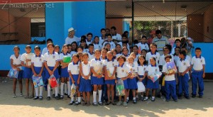 Thank You from the Benito Juárez Schoolchildren