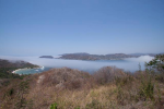 Strange fog fills Zihuatanejo Bay - click to enlarge