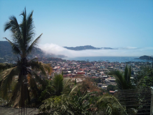 View of strange fog from the colonias - click to enlarge