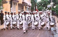 Mexican Navy on parade